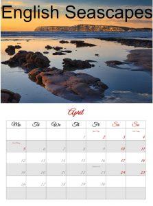 Seascapes 2021 Calendar