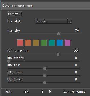 Ninja - Color Enhancement