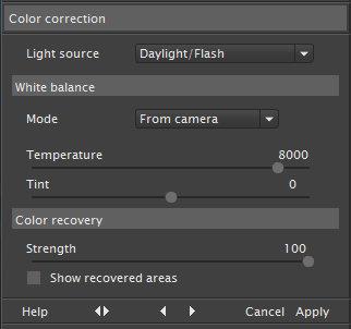 Ninja - Colour correction