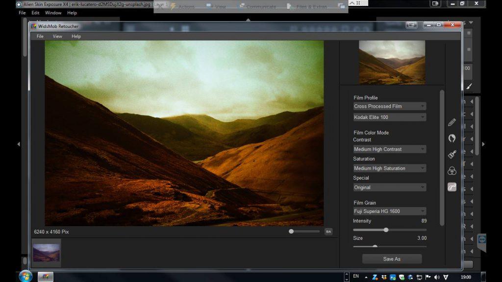 Film Profile Interface